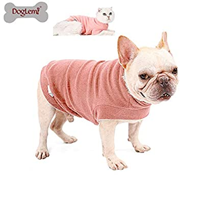 Doglemi Warm Dog Clothes Winter Pet Coat Medium Small Dog Coat Soft Cat Sweater Puppy Clothes Small Dog Jumpers Winter Dog Clothes For Small dogs Home Pet Clothing