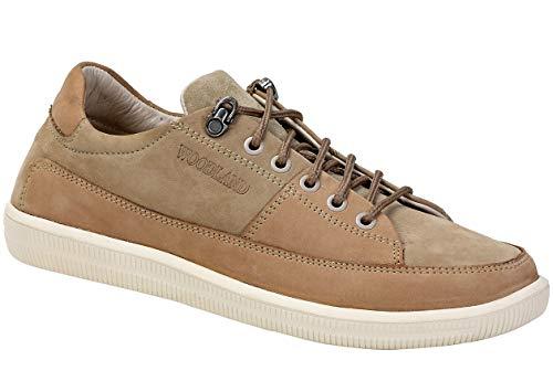 Woodland Men's Khaki Leather Casuals 10 UK/India (44 EU)-(OGC 3003118)