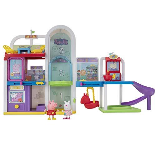 Peppa Pig Peppa PEP0701 Kit de Jeu avec 2 Figurines Exclusives Peppa et Luzie Locke avec Accessoires pour Enfants à partir de 2 Ans