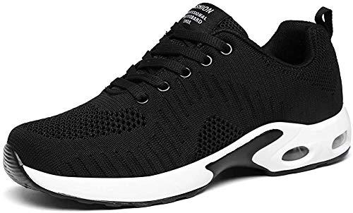LUOBANIU Sportschoenen voor dames, loopschoenen met luchtkussen, turnschoenen, sneakers, trainers, lichte Air schoenen