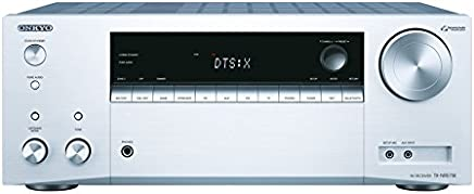 """'Onkyo Europe Electronics Torx NR575E Multi Room """"7.2Channel Audio/video network Enabled Receiver–Silver"""