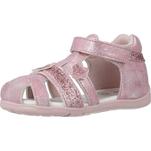 Chicco Mädchen Sandalen Sandaletten 1063521 Pink 18 EU
