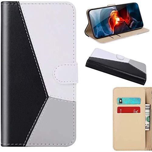 Jennyfly Galaxy S20 Ultra - Funda de piel sintética con tapa y cierre magnético para Samsung Galaxy S20 Ultra 2020 de 17,5 pulgadas, color negro
