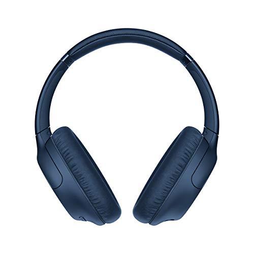 Sony WH-CH710N kabellose Bluetooth Noise Cancelling Kopfhörer (bis zu 35 Stunden Akkulaufzeit, Around-Ear-Style, Freisprecheinrichtung, Headset mit Mikrofon, wireless) Blau