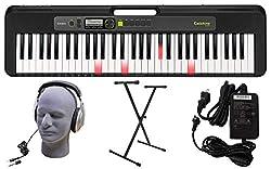 cheap Casio LK-S250 premium keyboard, 61 keys, backlight, stand, headphones, power supply (CAS…