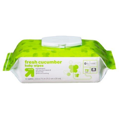 up & up Cucumber Baby Wipes, 72 Count