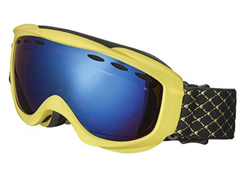 Crivit Kinder Ski- und Snowboardbrille - Kategorie S3 (Gelb)