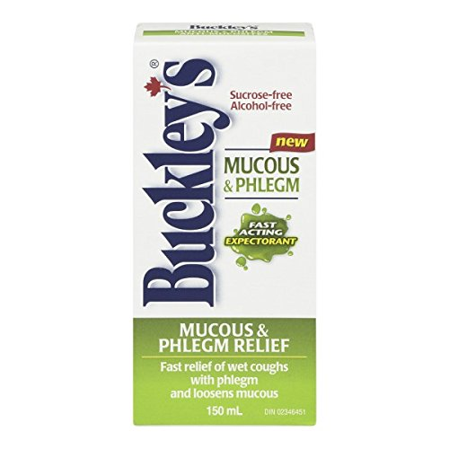 BUCKLEY'S Original 'EXPECTORANT' Syrup for COUGH, MUCUS & PHLEGM 150 ml Size