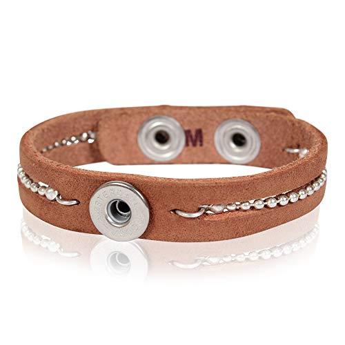 NOOSA PETITE Armband TALISMANN BALLCHAIN natural Größe M