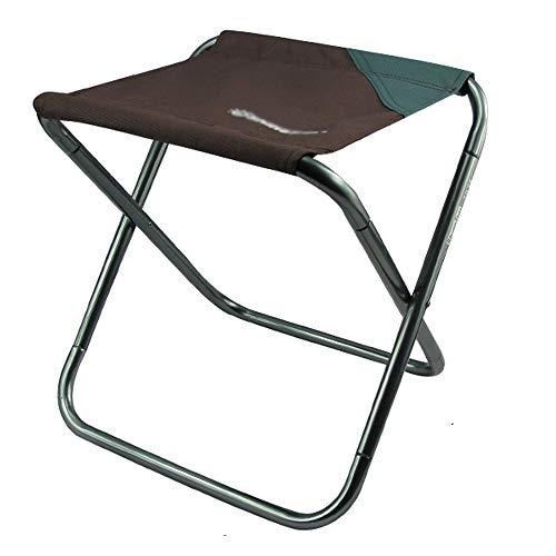 Mini Tabouret de camping en plein air pliable, chaise de camping portable légère, chaise extérieure pliable, utilisée pour le camping de pique-nique de voyage, sac à dos de randonnée