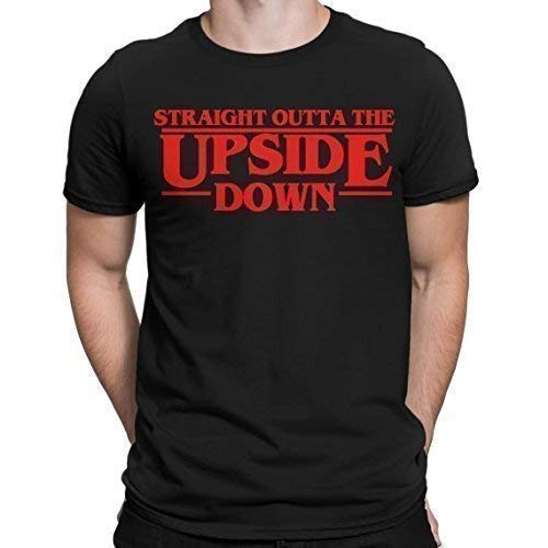 Stranger Things The Upside Down T-Shirt Nerdy Graphic Geeky