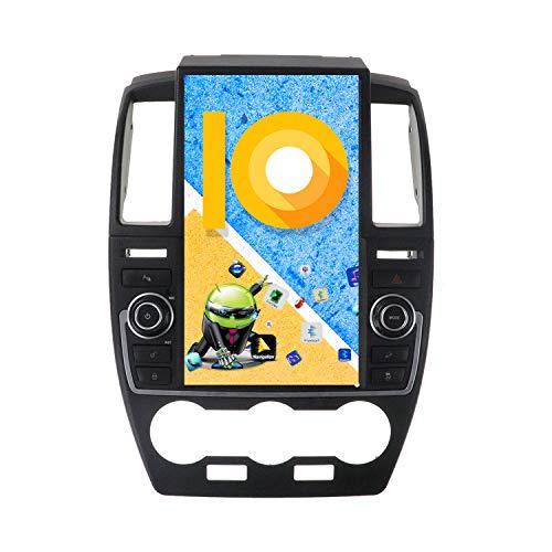 ZWNAV 13.6 Pulgadas Android 9.0 Radio de Coche, para Land Rover Freelander 2 2007-2015, Pantalla Vertical navegación GPS WiFi Bluetooth DSP Carplay