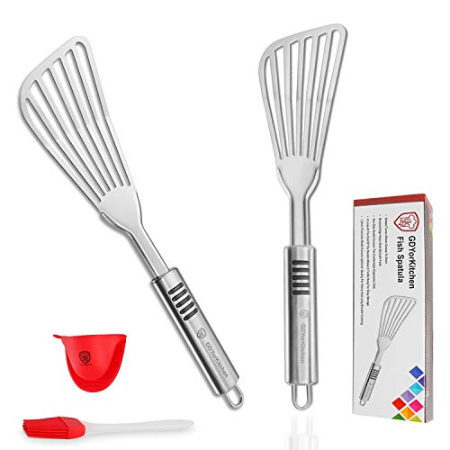 small all stainless steel spatula - 9