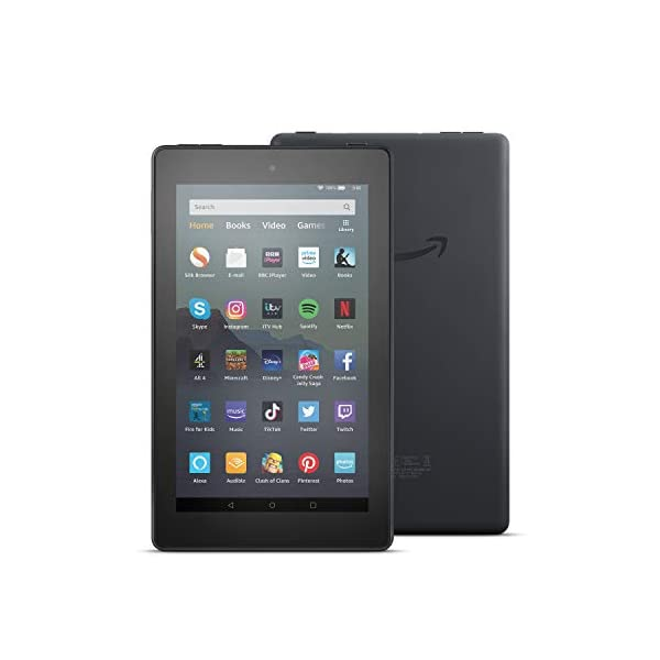 "Fire 7 Tablet | 7"" display, 16 GB, Black with Special Offers 1"