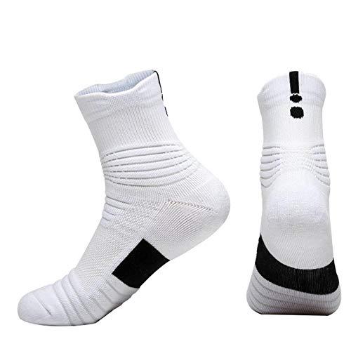 Calcetines Deportivos para Hombres Baloncesto Profesional Toalla para Correr Parte Inferior Antideslizante Barco Deportivo Calcetines De Senderismo De Algodón Transpirable Al Aire Libre, W, China