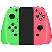 STOGA Manette de Jeu Pro Compatible avec Console Nintendo Switch, Manette sans Fil avec 6 Axes de détection et Vibrations