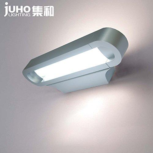 YU-K Moderne wandlamp rechte rand muur spiegel voorste lamp, 90 cm