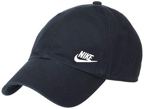 NIKE W NSW H86 Cap Futura Classic Hat, Mujer, Black/(White), MISC
