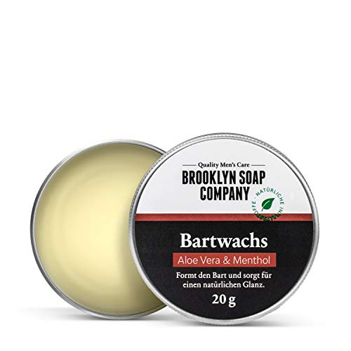 Brooklyn Soap Company Naturlig Skäggvård Vax, 20 g