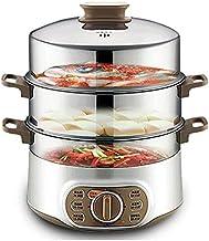 XJJZS Cuisine 1500W électrique à Vapeur Multifonction Ménage à Vapeur Hors Tension Automatique Haute capacité Vapeur Passe...