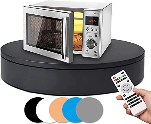 BAOSHISHAN Telecomando Elettrico Rotante Giradischi Display Table per Video Live per la Fotografia Piattaforma Girevole Automatico Visualizzazione del Prodotto Tavolo di 360 Gradi