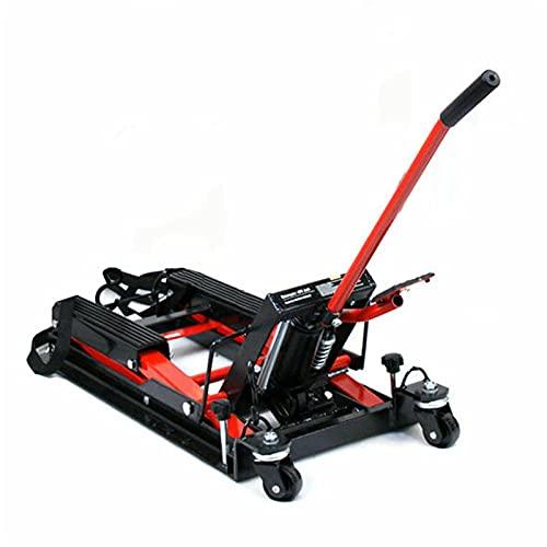 680 kg di supporto idraulico per moto, supporto per sollevatore, supporto centrale, ponte sollevatore idraulico, adatto per diversi tipi di moto, imbottitura in gomma spessa