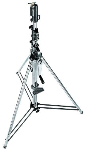Manfrotto Stativ Wind-Up Silber 3-tlg.