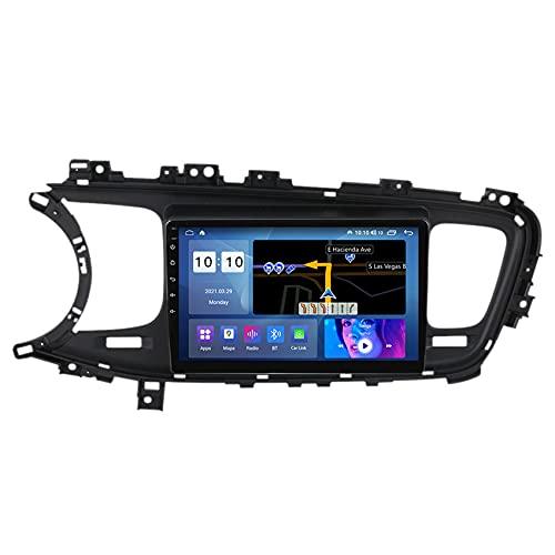 ADMLZQQ Navegación para Audio/Video de automóvil para KIA Optima K5 2013-2015 Car Stereo Android 10 FM/WiFi/Control del Volante/Bluetooth/cámara de visión Trasera,M300s