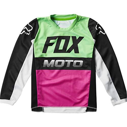 Fox Racing 180 Fyce Kids Boys Off-Road Motorcycle Jersey - Multi/Medium
