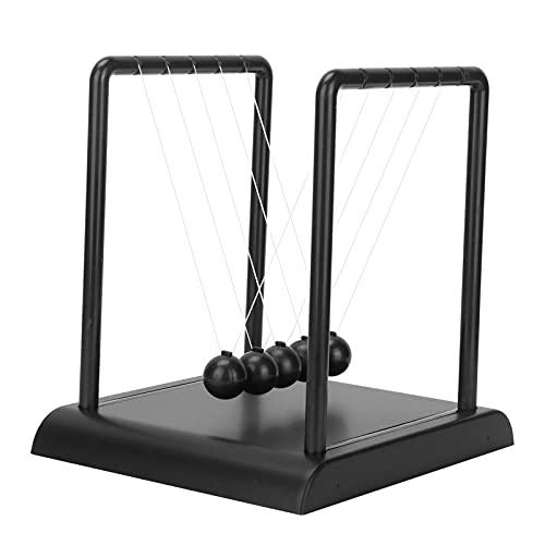 LAJS Decoración de la Bola del péndulo, Bolas de Acero del Equilibrio de la Cuna de Newton de la Bola del péndulo para el Juguete Inteligente para el Estudiante