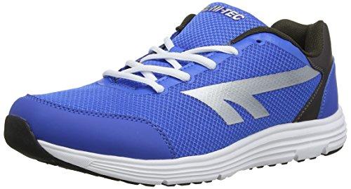 HI-TEC Mens Pajo Fitness Workout Running Shoes Blue 9 Medium (D)