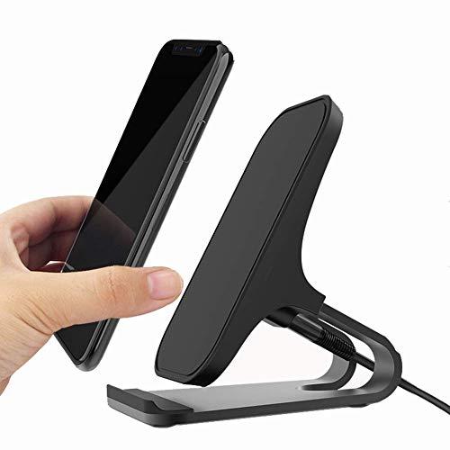 Cargador Inalámbrico Rápido Soporte De Carga Inalámbrico De 10w / 7.5w / 5w para iPhone 11 / XR/XS MAX/XS/X/Samsung Galaxy S10 / S10 + / S9 / S9 + Note 10/9
