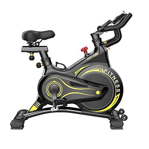 ZCYXQR Bicicleta estática giratoria Fitness Deportes Hogar Familia Equipo de Ciclismo estático Bicicleta silenciosa Inteligente Culturismo en Interiores (Deporte en Interiores)