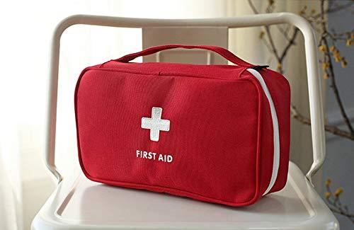 Apark Botiquín de Primeros Auxilios, Kit de Primeros Auxilios Súper Compacto y Profesional para Hogar, Oficina, Deportes, Senderismo, Supervivencia, Emergencias, Viajes, Camping