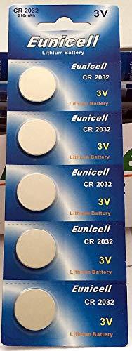 CR2032 3 V 5 x pilas de litio tipo botón pilas