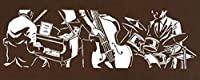 戸田屋商店 梨園染 手ぬぐい JAZZ TRIO 395 約37×90cm