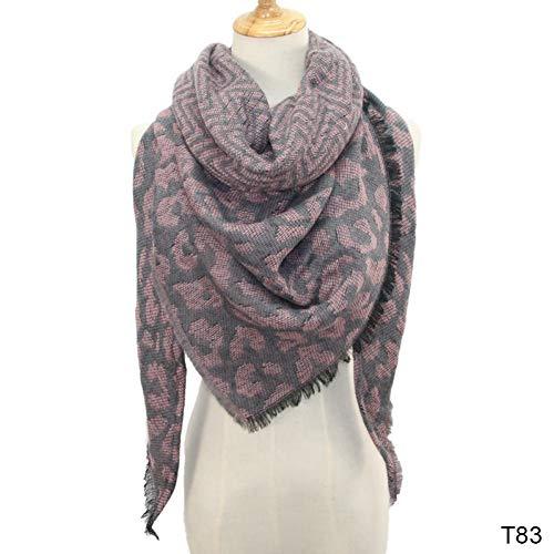 OPEDCY Frauen-Winter-Schal-Starker Warmer Dreieck-Schal-Verpackungs-Schal
