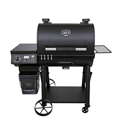 Why Choose Oklahoma Joe's 20202106 Rider Deluxe Pellet Grill, Black