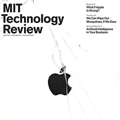 MIT Technology Review, May 2016 (English) Titelbild