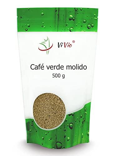 Café verde molido 500g   Para infusionar   Formato Ahorro   Ayuda a adelgazar