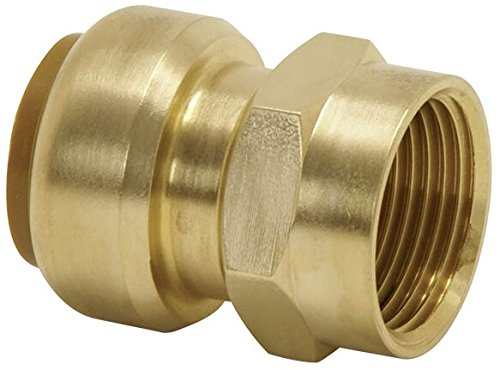 Tectite - Steckfitting Kupferrohr Übergangsmuffe 15mm x 1/2