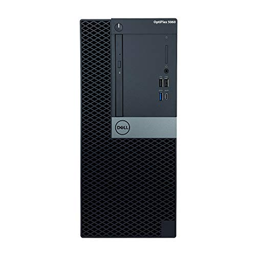 Dell Optiplex 5060 Tower Desktop - 8th Gen Intel Core i7-8700 3.20GHz (Up to 4.60GHz), 16GB DDR4 2666MHz Memory, 512GB SSD, Intel UHD Graphics 630, Windows 10 Pro