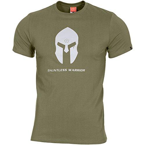 Pentagon Hommes Ageron T-Shirt Spartan Helmet Olive taille M