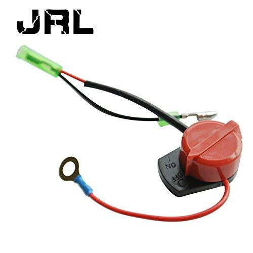 JRL Interrupteur d'arrêt de nettoyeur haute pression pour moteurs à essence 168 F 170 F 173 F 177 F 190 F