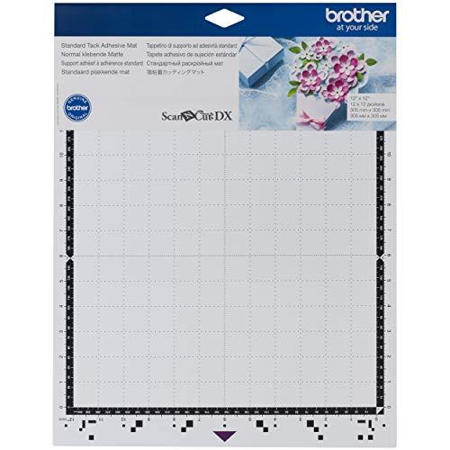 Brother ScanNCut CADXMATSTD12 Bande adhésive standard pour carton, vinyle, mousse et plus encore 30,5 x 30,5 cm