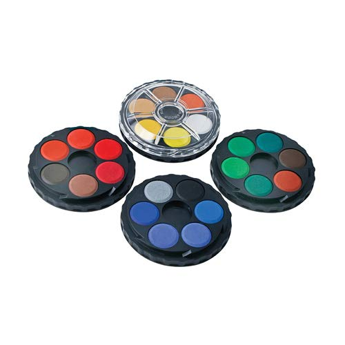 Koh-i-noor 24 Color Watercolors Wheel Stack Pack. 0171506