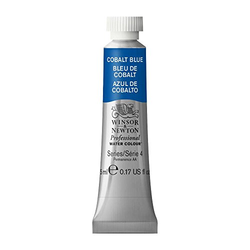 Winsor & Newton Professional Water Colour Paint, 5ml tube, Cobalt Blue