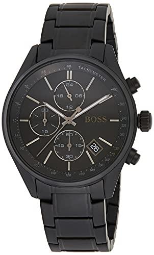 Hugo Boss Homme Chronographe Quartz Montre avec Bracelet en Acier Inoxydable 1513676