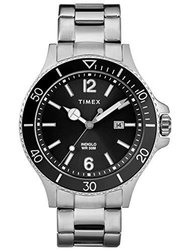 Timex TW2R64600 Herren-Armbanduhr Analog Quarz mit Edelstahlband