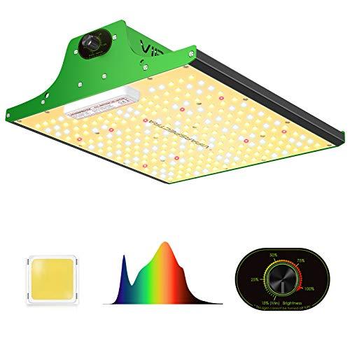 VIPARSPECTRA Neueste Pro Series P600 LED Grow Light mit verbesserten SMD-LEDs, sonnenähnlichem Vollspektrum und dimmbarer Funktion für Hydroponic-Zimmerpflanzen Veg Flower